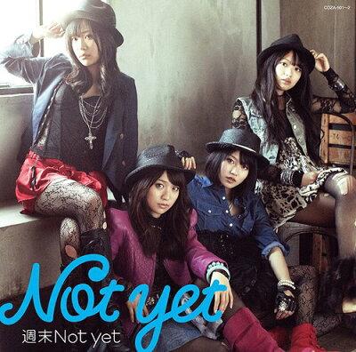 【送料無料選択可!】【初回仕様あり!】週末Not yet [CD+DVD/Type-A] / Not yet (大島優子、北...