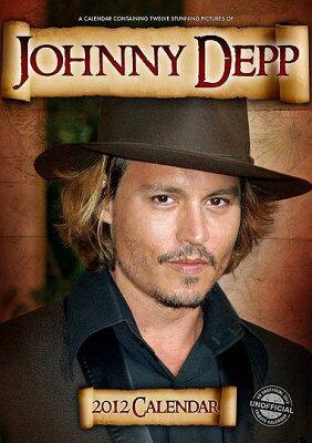 【送料無料選択可!】ジョニー・デップ [輸入 2012年カレンダー] / ジョニー・デップ