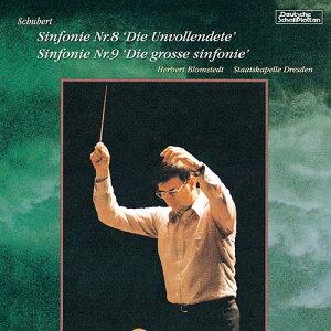 シューベルト : 交響曲第8番「未完成」、交響曲第9番「ザ・グレイト」 / ヘルベルト・ブロムシュテット (指揮)/シュターツカペレ・ドレスデン