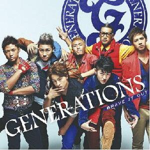 【送料無料選択可!】BRAVE IT OUT [CD+DVD] [期間限定生産] / GENERATIONS