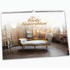 【送料無料選択可!】2013 壁掛けカレンダー [輸入商品] / 少女時代