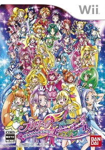 プリキュア オールスターズ ぜんいんしゅうごう☆レッツダンス! [Wii] / ゲーム