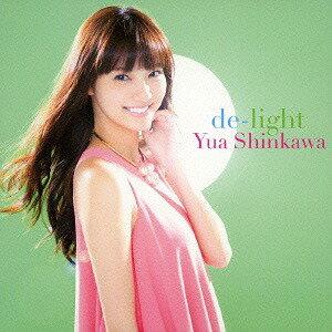 de-light [CD+DVD/Type B/Jacket B][CD] / 新川優愛