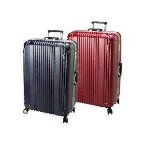 スーツケース キャリーケース キャリーバッグ 旅行用品 旅行かばん トラベルバッグ トランクケース メンズ レディス 女性 男性 紳士用 海外 国内 鞄 軽量 TSAロック L サイズ 大型 約90L 7〜10日用 ブランド BERMAS バーマス 60267 97L 代引不可