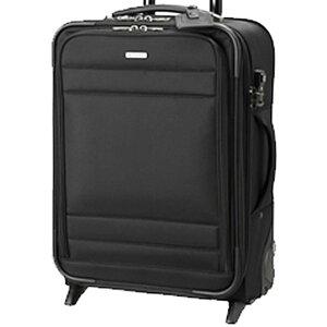 スーツケース M 2輪 キャスター 付き キャリーバッグ 旅行用品 ナイロン系 キャリー バック ソフト ケース ビジネストラベル バッグ 海外出張 メンズ 男性用 紳士用 鞄 ブランド BERMAS バーマ