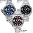 シーレーン 腕時計 SEALANE SE32-MBL SE32-MBK SE32-MBR