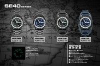 シーレーン時計腕時計シーレーンSEALANE腕時計メンズ男性用電池(クォーツ)式N夜光20気圧防水SE51-MBK