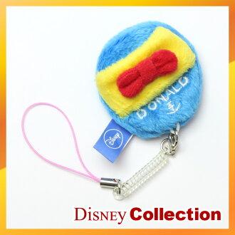 迪士尼官方唐老鴨為智慧手機手機手機液晶清潔帶鑰匙扣鑰匙鏈的