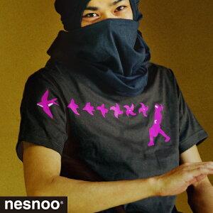 忍者-燕手裏剣-アーティストコラボTシャツ