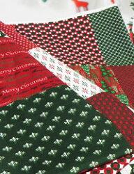 【コットン】メリークリスマス_42パッチカットクロス