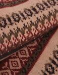 【起毛ニット】鹿の森・北欧スタイル起毛ニット