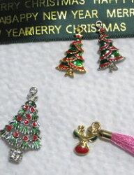 【チャーム】クリスマスツリー(2種類)