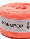 あす楽 【Tシャツヤーン】ネオンピーチ(NEON PEACH MUji)【 MONOPOP モノポップ ズパゲッティスタイル 手芸 編み物 手作り 】【 商用利用可 】