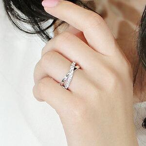 pt950【0.60ct】ダイヤモンドクロスリング