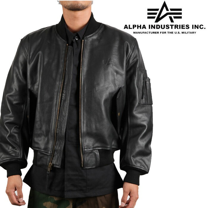 nest001 | Rakuten Global Market: Alpha Industries Leather Ma-1 ...