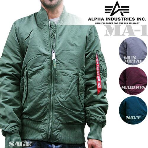Alpha Industries MA-1 REISSUE (SLIM FIT) Jacket アルファ ミリタリータイトフライトジャケット ...