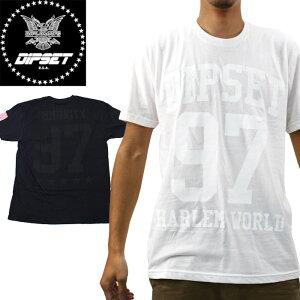 ■アウトレット品■ディプセット Tシャツ DIPSET USA DIPSET HARLEM WORLD B/W T-SHIRT The Diplomats DB14-1106 ディプロマッツ ヒップホップ sale セール▲[ホワイト][ブラック]ds-Y