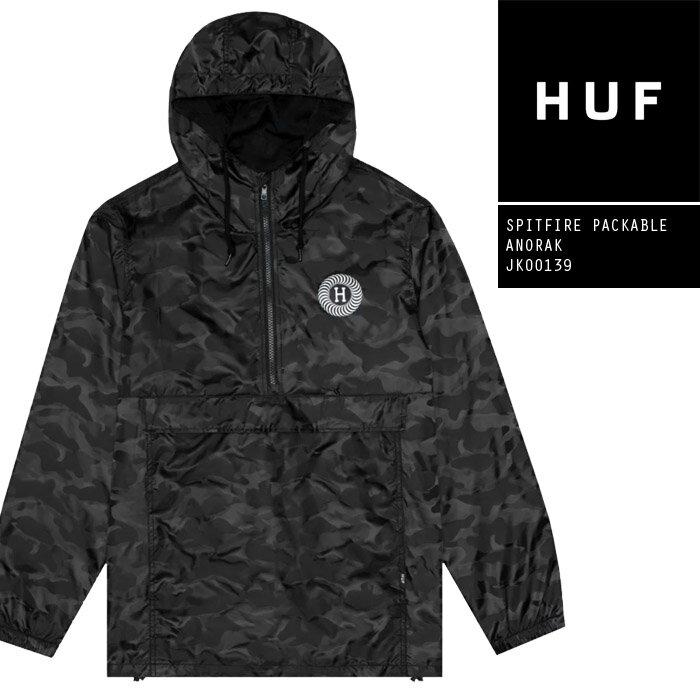 メンズファッション, コート・ジャケット M HUF SPITFIRE PACKABLE ANORAK JK00139 SB sale ZRC