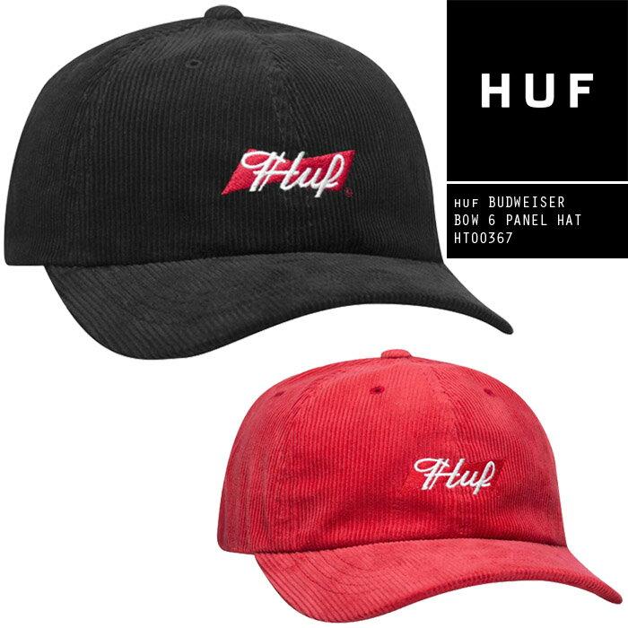 メンズ帽子, キャップ  HUF BUDWEISER BOW 6 PANEL HAT HT00367 SB sale ZRC