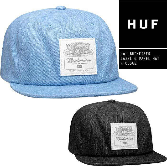 メンズ帽子, キャップ  huf BUDWEISER LABEL 6 PANEL HAT HT00368 SB ds-Y