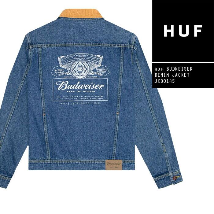 メンズファッション, コート・ジャケット  G HUF BUDWEISER DENIM JACKET JK00145 SB ZRC