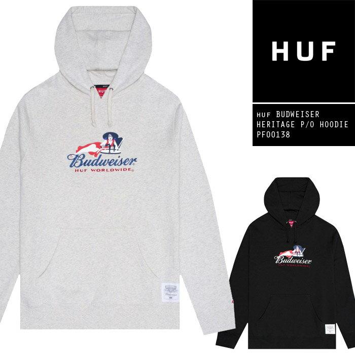 トップス, パーカー  HUF BUDWEISER HERITAGE PO HOODIE PF00138 SB ZRC