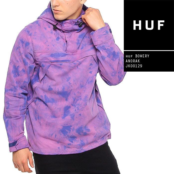 メンズファッション, コート・ジャケット  HUF BOWERY ANORAK JK00129 SB ZRC