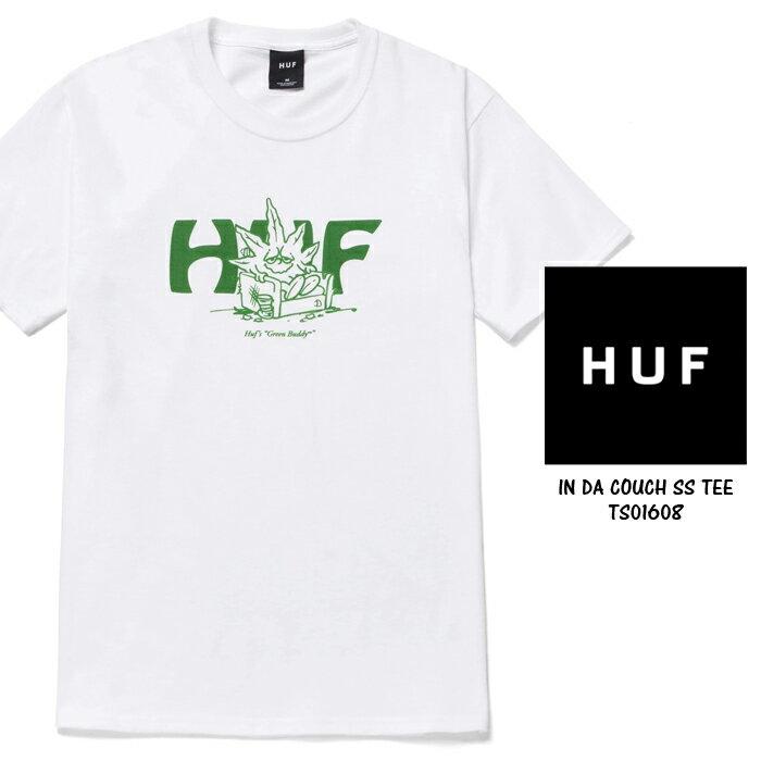 トップス, Tシャツ・カットソー  T HUF 420 COLLECTION IN DA COUCH SS TEE TS01608 Green Buddy T T SB