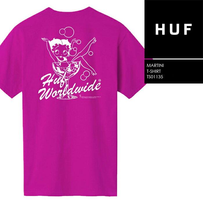 トップス, Tシャツ・カットソー  T huf BETTY BOOP MARTINI SS TEE TS01135 SB ZRC