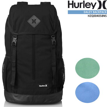 [旧モデル][残りわずか]ハーレー バックパック HURLEY DALEY BACKPACK HZQ004058NS リュック 鞄 バッグ カバン デイパック メンズ レディース ユニセックス 男性 女性 在庫処分 sale セール▲[ブラック][グリーン][ブルー][ZRC]