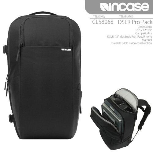 INCASEDSLRProPackCL58068インケースバックパックリュックMacbookAIRiPadカメラバッグ
