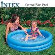 [限定特典][あす楽]INTEX クリスタルブループール ME-7033 59416NP CRYSTAL BLUE POOL インテックス シンプル 家庭用 ds-Y