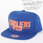 [大特価]ミッチェル&ネス キャップ 帽子 MITCHELL & NESS STRAIGHT SHOT SNAPBACK CAP Cleveland Cavaliers VQ80ZMTCA5CAVAL ストレイトショット クリーブランドキャバリアーズ スナップバック NBA ベースボール sale セール▲[ブルー]ds-Y