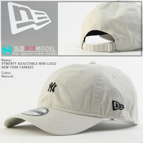 ニューエラ9TWENTYADJUSTABLEMINILOGONEWYORKYANKEESNEWERA別注ニューヨークヤンキース帽子キャップMLBメジャーリーグベースボール