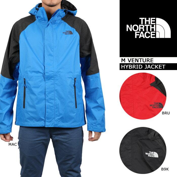 THE NORTH FACE M VENTURE HYBRID JACKET ノースフェイス ベンチャーハイブリッドジャケット 登山用シェル 雨具 ハードシェル ジャケット ウインドブレーカー