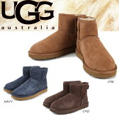 UGG ムートンブーツ CLASSIC MINI アグ クラシックミニ シープスキン シューズ ウーマンズ 女性 レディース UGG Australia 防寒
