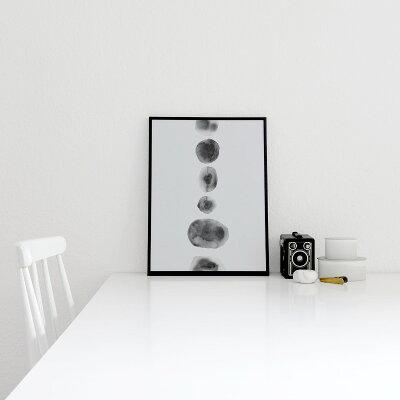 CocoLapineDesignCIRCULARWATERCOLORアートプリントポスター30x40cmベルギー/ドイツ