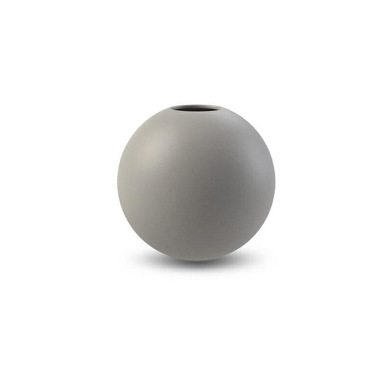 Cooee Design 花瓶 ボール フラワーベース 10cm グレー おしゃれ 陶器 一輪挿し 北欧 モダン nest クーイー クーイーデザイン スウェーデン