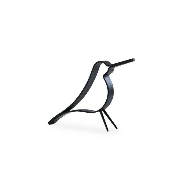 Cooee Design ウッディ バード ブラック S 14cm 鳥 木製 オブジェ Woody Bird 北欧 モダン おしゃれ nest クーイー クーイーデザイン スウェーデン