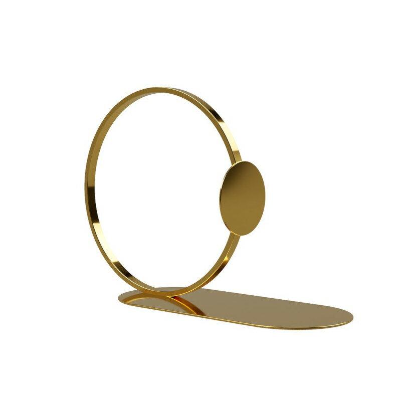 Cooee Design ブックエンド リング ブラス 10cm ブックリング 本立て ゴールド 北欧 モダン おしゃれ nest クーイー クーイーデザイン スウェーデン