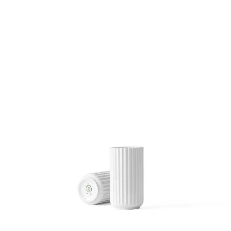 Lyngby Porcelain フラワーベース 12cm ホワイト Lyngby Vase リュンビューポーセリン 北欧 デンマーク