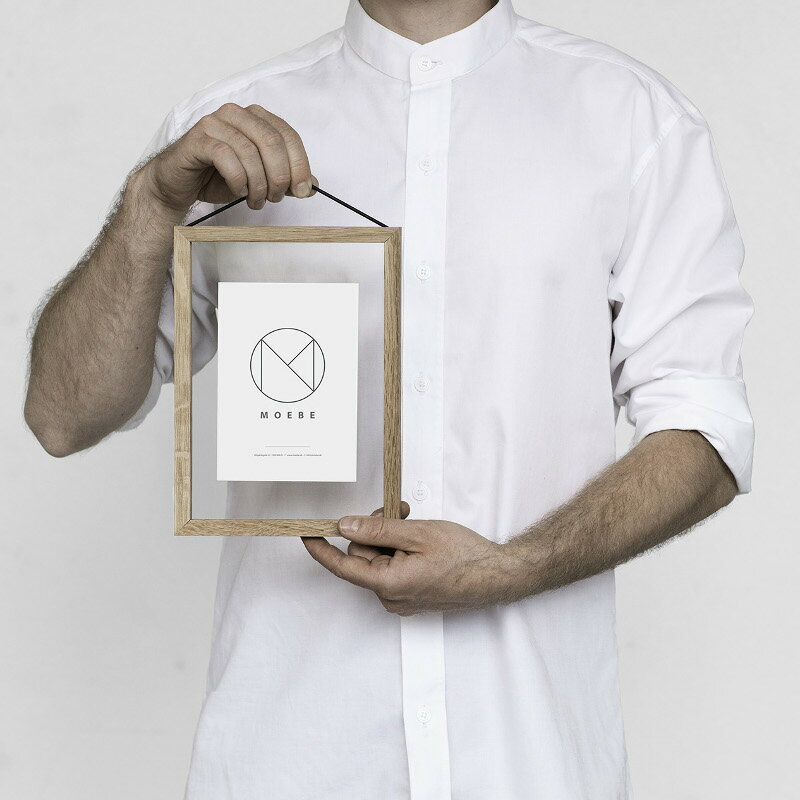 MOEBE フレーム A5「オーク」 あなたのクリエイティビティを刺激する! ムーベ 北欧 デンマーク