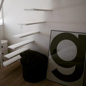 G ビッグアルファベットポスター Playtype プレイタイプ 北欧 デンマーク