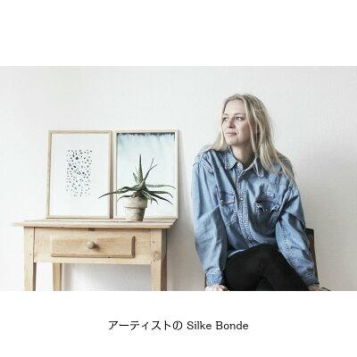 SilkeBonde「Forrestfloor/林床」50x70アートポスター北欧デンマーク