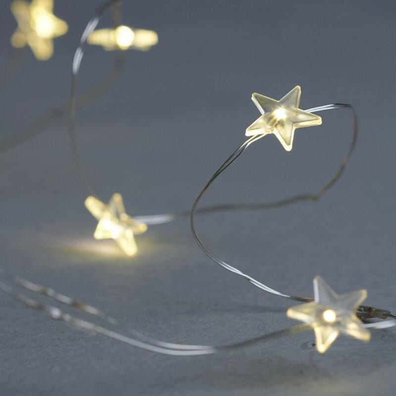 SIRIUS イルミネーション チェーンライト スター 3.9m LED クリスマス 電飾 おしゃれ シリウス 北欧 デンマーク