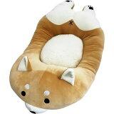 【処分価格】貝沼産業 SHIBAX シバックス 舟型ベッド 赤 柴犬