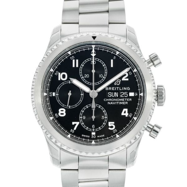 腕時計, メンズ腕時計  8 43 BREITLING NAVITIMER8 CHRONOGRAPH 43A118B-1PSS