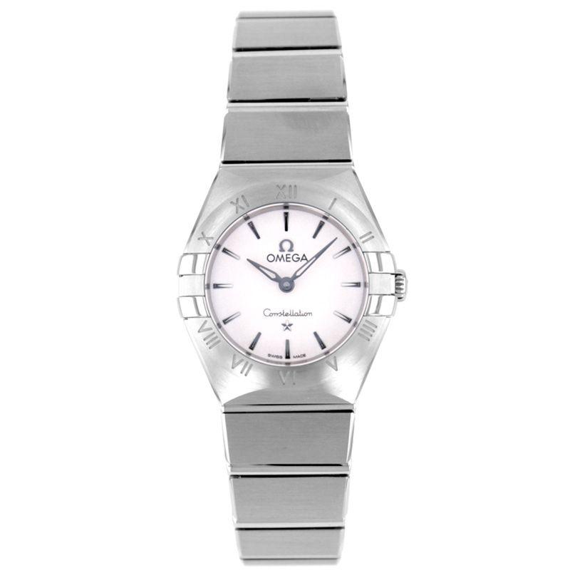 腕時計, レディース腕時計 3 OMEGA CONSTELLATION MANHATTAN QUARTZ131.10.25.60.02.001