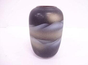 九谷焼 金銀彩遠山花瓶【1819OFF】【バーゲン】