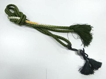 正絹 振袖用手組み帯締め【リサイクル】【中古】